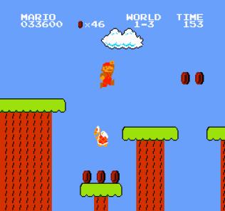 Super Mario Bros NES 21