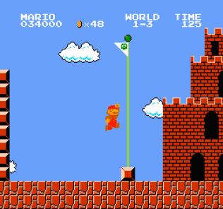 Super Mario Bros NES 22
