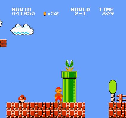 Super Mario Bros NES 31