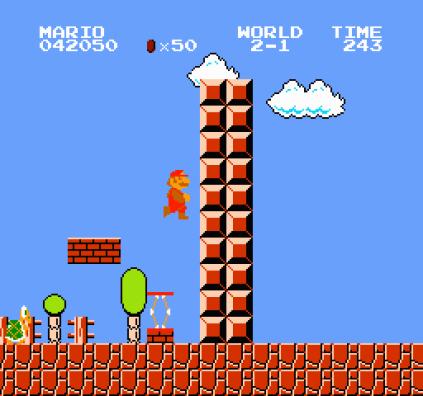 Super Mario Bros NES 34