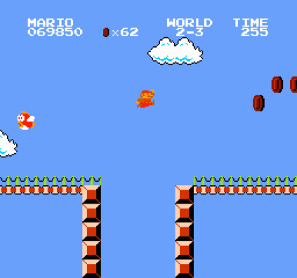 Super Mario Bros NES 42