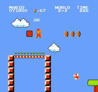 Super Mario Bros NES 43