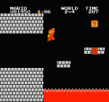 Super Mario Bros NES 47