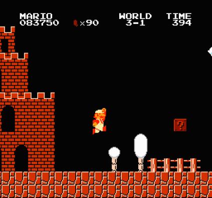 Super Mario Bros NES 53