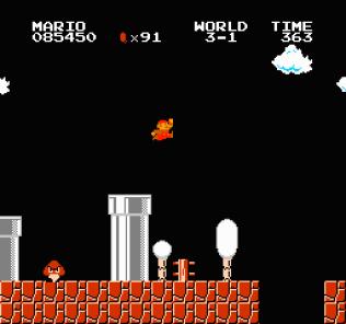 Super Mario Bros NES 54