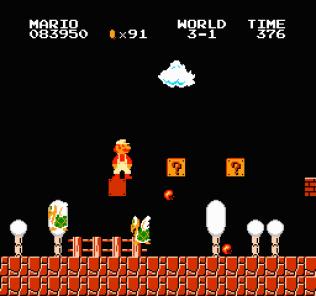Super Mario Bros NES 55