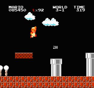 Super Mario Bros NES 56