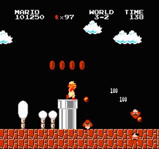 Super Mario Bros NES 65