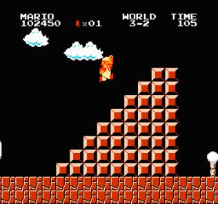 Super Mario Bros NES 66