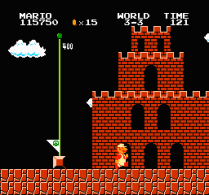 Super Mario Bros NES 73