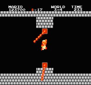 Super Mario Bros NES 75
