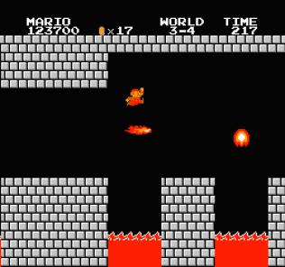 Super Mario Bros NES 76
