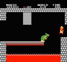 Super Mario Bros NES 77