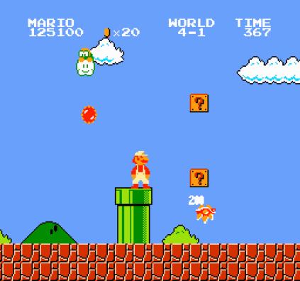 Super Mario Bros NES 78