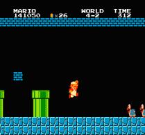 Super Mario Bros NES 83