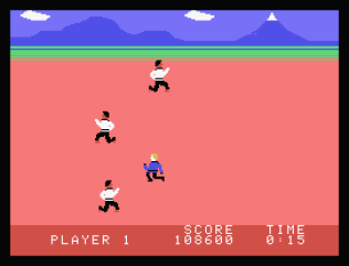 Chuck Norris Superkicks ColecoVision 33