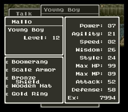 Dragon Quest 6 SNES 196