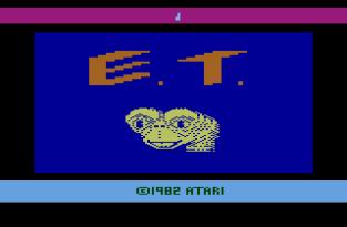 ET the Extra-Terrestrial Atari 2600 01