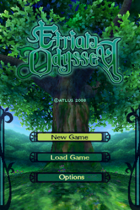 Etrian Odyssey Nintendo DS 001
