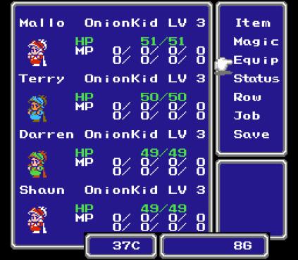 Final Fantasy 3 Famicom 034