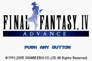 Final Fantasy 4 Advance GBA 001