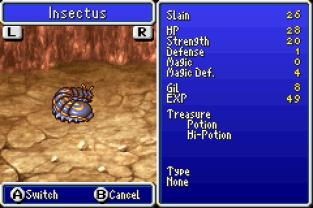 Final Fantasy 4 Advance GBA 122