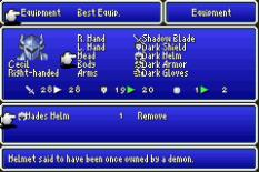 Final Fantasy 4 Advance GBA 131