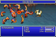 Final Fantasy 4 Advance GBA 142