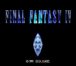 Final Fantasy 4 SNES 001