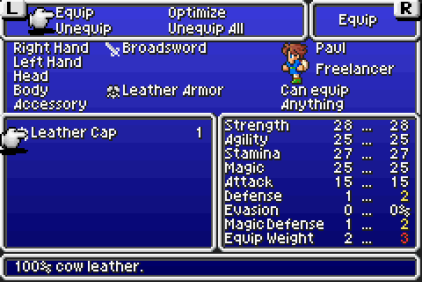Final Fantasy 5 Advance GBA 031