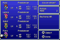 Final Fantasy 5 Advance GBA 052