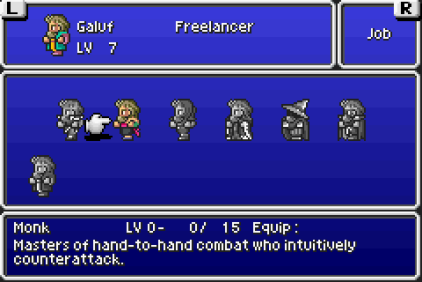 Final Fantasy 5 Advance GBA 075