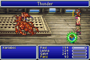 Final Fantasy 5 Advance GBA 099