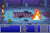 Final Fantasy 5 Advance GBA 107