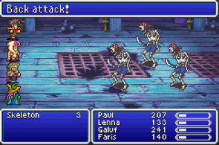 Final Fantasy 5 Advance GBA 109