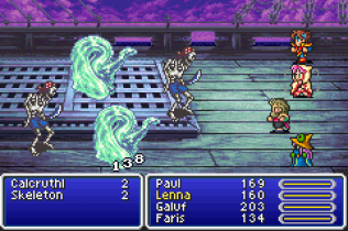 Final Fantasy 5 Advance GBA 110