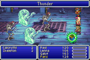 Final Fantasy 5 Advance GBA 111