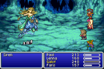 Final Fantasy 5 Advance GBA 125