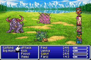 Final Fantasy 5 Advance GBA 130
