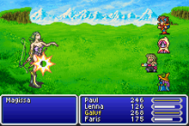 Final Fantasy 5 Advance GBA 160