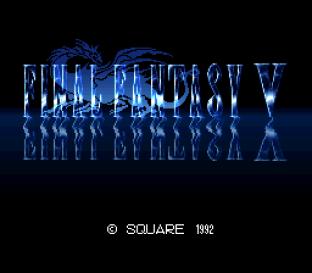 Final Fantasy 5 SNES 001
