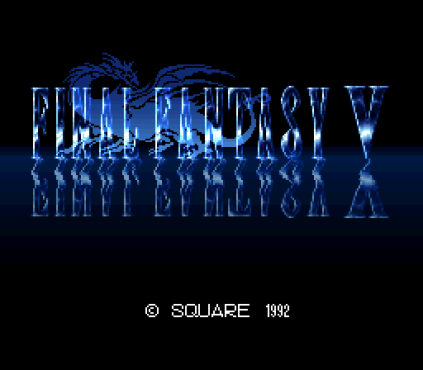 Final Fantasy 5 SNES 001