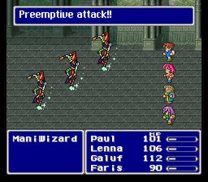 Final Fantasy 5 SNES 045