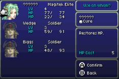 Final Fantasy 6 Advance GBA 21