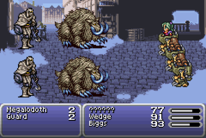 Final Fantasy 6 Advance GBA 23