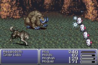 Final Fantasy 6 Advance GBA 64