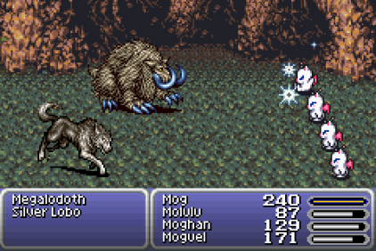 Final Fantasy 6 Advance GBA 64
