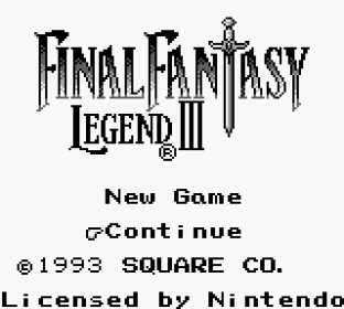 Final Fantasy Legend 3 Game Boy 001