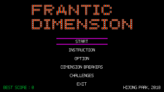 Frantic Dimension PC 01