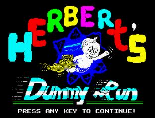 Herbert's Dummy Run ZX Spectrum 01